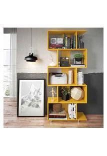 Estante Prateleira Em Nichos Sala Ou Escritório Amarelo Lilies Móveis