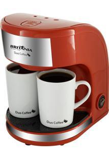 Cafeteira Britânia Duo Coffee Vermelha 220V