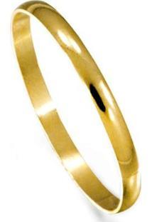Aliança Em Ouro 18Kl Noivado Ou Casamento Casa Das Alianças Polida - Unissex