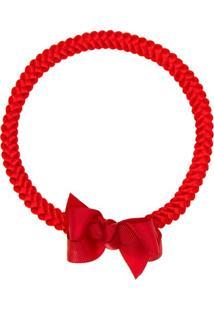 Faixa De Cabelo Trançada Laço Vermelha - Roana 23840020007 Faixa Trançada Especial Vermelho