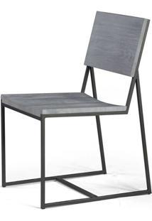 Cadeira York Metal Grafite Cinza 83 Cm (Alt) - 46009 - Sun House