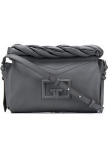 Givenchy Bolsa Tiracolo Id93 Média - Cinza