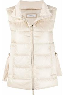 Peserico Padded Quilted Gilet - Neutro