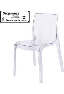 Cadeira Femme Fatale Policarbonato Transparente - 16304 - Sun House