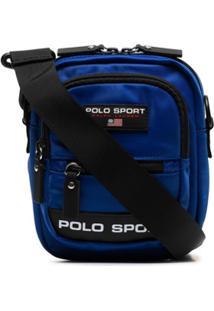 Polo Ralph Lauren Bolsa Com Aplicação De Logo - Azul