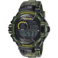 bb86d2f0653 Relógio Digital Mormaii Mo1134 - Masculino - Verde Preto Centauro