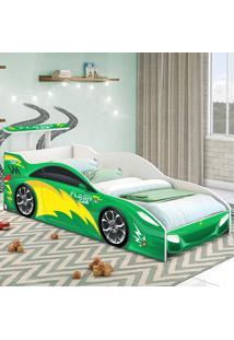 Cama Carrinho Solteiro Verde Casah - Verde - Dafiti