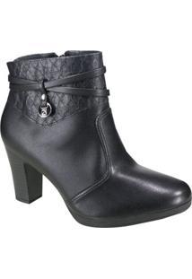 Bota Feminina Piccadilly Ankle Boot