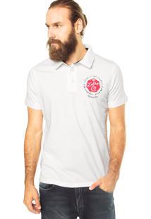 Camisa Polo Zebra Company Branca