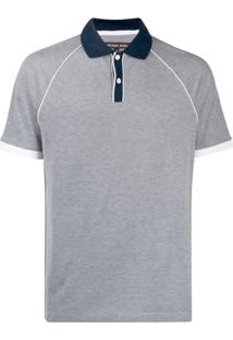 Michael Michael Kors Piqué Polo Shirt - Cinza