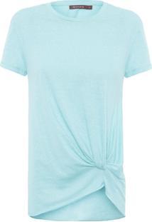 Camiseta Feminina Giovana - Azul