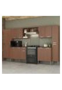Cozinha Completa C/Armário E Balcão Pequim Blues Multimóveis