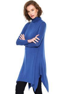 Blusa Animale Color Azul