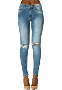 ... Calça Jeans Skinny Marisa Forum df35af93655