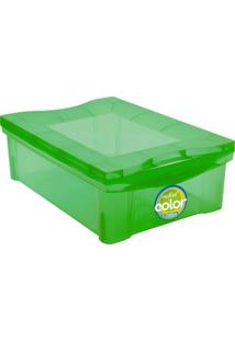 Caixa Organizadora Radical- Verde- 14,4X30,5X42,5Cm