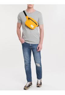 Pochete Ckj Masc Quadrada Logo - Amarelo Ouro - U