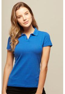 Polo Azul Royal Feminina