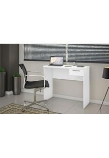Mesa Office Escrivaninha Notavel Siena Nt 2000 Branco