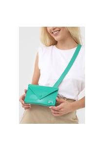Pochete Colcci Envelope Verde