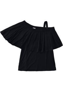 Blusa Recorte Sobreposto Malwee