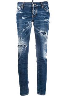 Dsquared2 Calça Jeans Slim - Azul