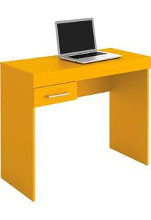 Mesa Para Computador Com 1 Gaveta Cooler - Artely - Amarelo