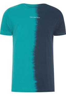 Camiseta Masculina Imersão Vertical - Verde