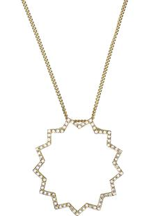 Pingente Em Ouro Amarelo 18K Com Diamante - Lotus