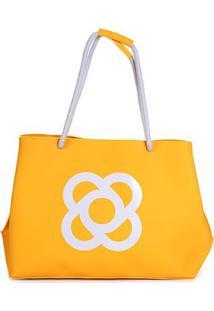 Bolsa Petite Jolie Shopper Claire Feminina - Feminino-Amarelo