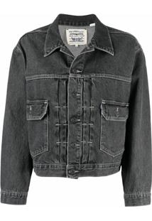 Levi'S: Made & Crafted Type Ii Denim Trucker Jacket - Cinza
