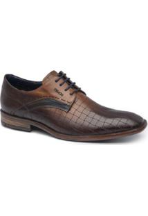 Sapato Social Ferracini Vitara Masculino - Masculino-Marrom