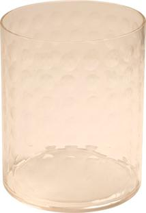 Porta-Velas De Vidro Decorativo Foam