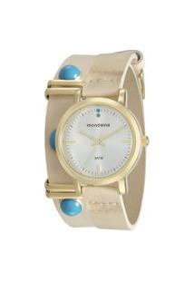 Relógio Analógico Mondaine Feminino - 76644Lpmvdh2 Dourado