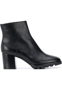 Hogl Ankle Boot De Couro - Preto