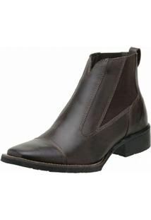 Bota Stevan Boots Botina - Masculino-Marrom