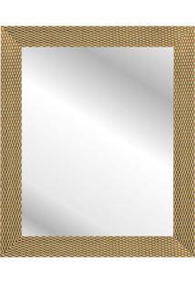 Espelho Corrente 57X47Cm Dourado