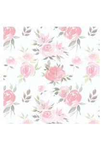 Papel De Parede Stickdecor Adesivo Floral Watercolor 100Cm L X 300Cm A