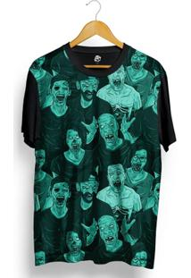 Camiseta Bsc Zombie Full Print - Masculino