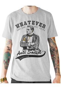 Camiseta Doompa Anti-Social Mescla