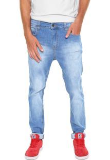 Calça Jeans Sommer Slim Andrews Azul