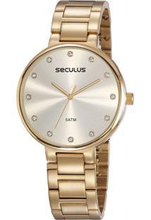 Relógio Feminino Seculus 23688Lpsvds2 Analógico 5Atm