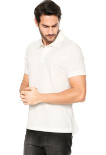 Camisa Polo Zoomp Bordado Branca