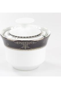 Açucareiro Porcelana Schmidt - Dec. Royal
