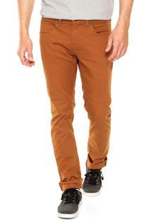 Calça Sarja Oakley Essential 5 Pockets Pant Caramelo