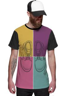 Camiseta Di Nuevo Pop Rock Preta