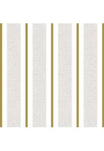 Papel De Parede Lyam Decor Clássico Dourado