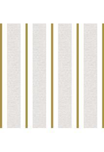 Papel De Parede Lymdecor Clássico Dourado