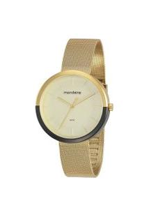 Relógio Feminino Mondaine 32120Lpmvde4 Analógico 5Atm   Mondaine   Dourado   U