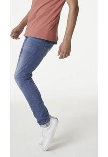 Calça Jeans Skinny Masculina Com Lavação Moderna