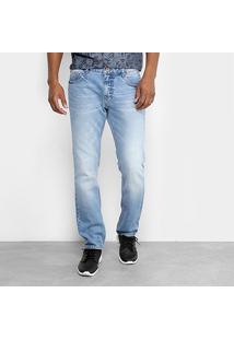 Calça Jeans Slim Forum Estonada Gilmar Masculino - Masculino-Azul Claro